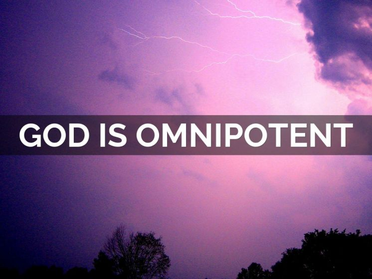 God is Omnipotent